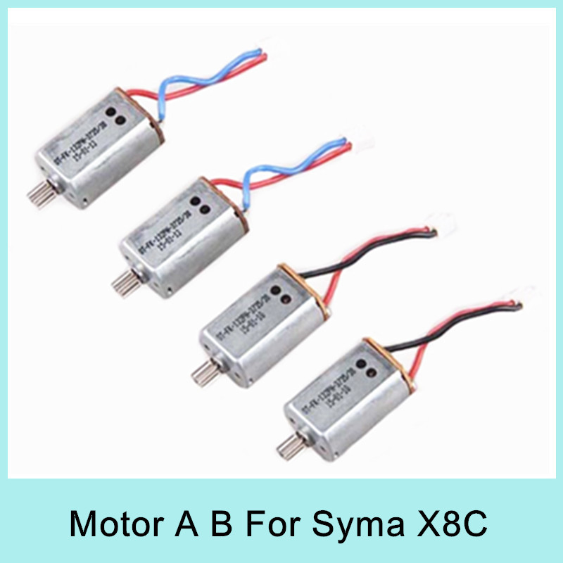 Original Syma X8C X8W engine RC Quadcopter Spare Parts Servo Motor CW/CCW RC Drone Accessories Free Shipping x8c 07 decorative part for syma x8c
