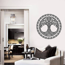 цена на YOYOYU Tree of Life Vinyl wall stickers Leaves Ornament Removeable Decal Livingroom Bedroom Decoration Art Poster ZX352