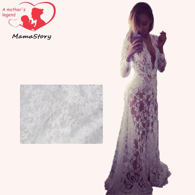 Adereços fotografia vestido de design vestido de maternidade grávidas maternidade frete grátis Lace gravidez mulheres fotografia