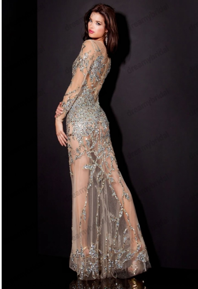 Free-Shipping-Sexy-See-through-Long-prom-dress-crystal-evening-mermaid-gowns -long-sleeves-images-real.jpg