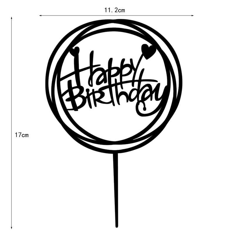 Excellent 100pcs Lot Creative Happy Birthday Design