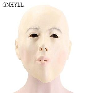 GNHYLL Bald Head Girl Mask Ful