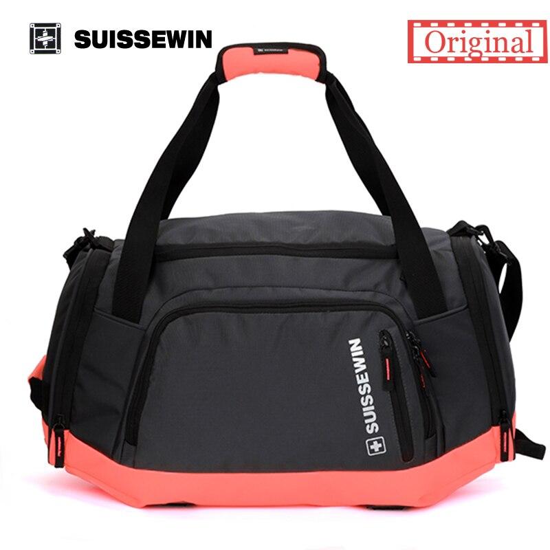 suissewin brand girls travel tote bag women men big shoulder bag large capacity lightweight portable duffel bag sn5015 - Travel Tote Bags