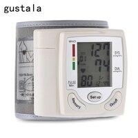 Tự động cổ tay blood pressure monitor kỹ thuật số LCD wrist watch blood pressure monitor ambulatory cuff blood pressure monitor