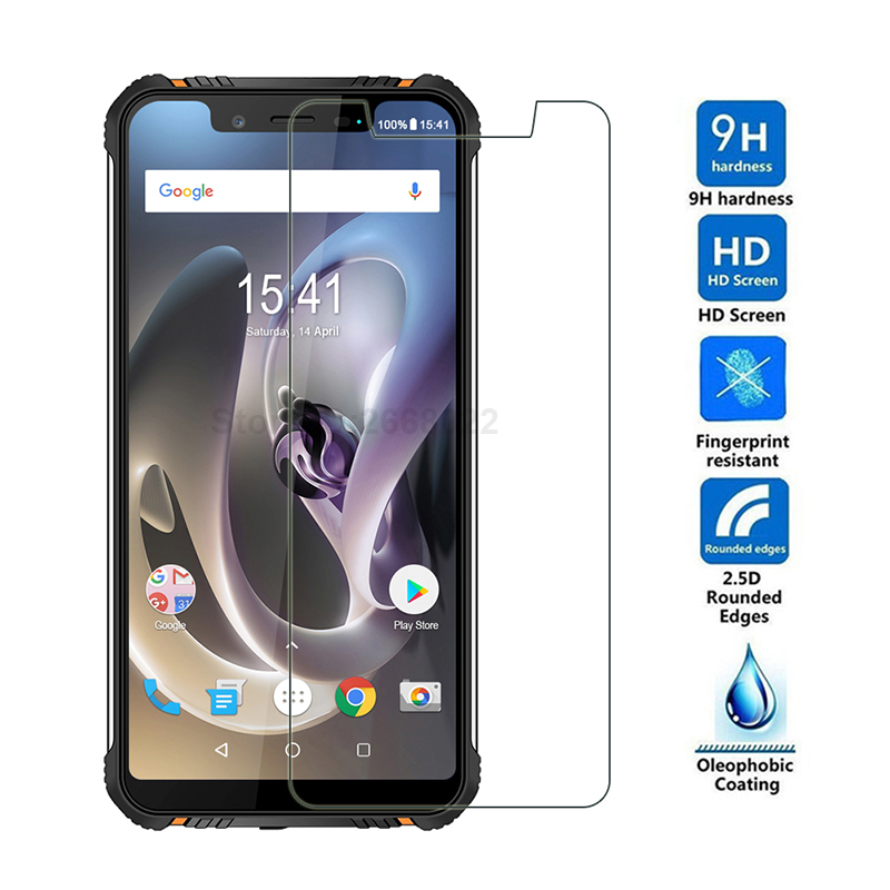 HOMTOM ZOJI Z33 Tempered Glass 100% Original Premium 9H 2.5D Screen Protector Film For HOMTOM ZOJI Z33 Phone (Not Full Cover) image