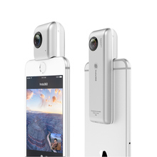 Free DHL Insta360 nanometer 360-degree panoramic camera 3K HD camcorder VR 210 pairs degree wide-angle fisheye lens
