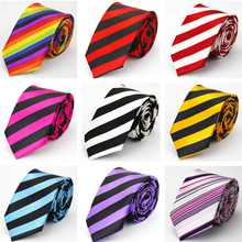Slim Necktie Mens Accessories Wedding Skinny Tie for Men Jac