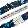 Classic Patterns Personalized Dog Collar Detail