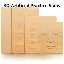 3D Tattoo Practice Skin Soft Sheet for Tattoo Needle Machine Supply Korean Semi Permanent Makeup Kit Microblading цены онлайн