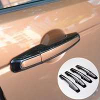 For Land Rover Discovery Sport Black Car Door Handle Cover Trim 8pcs 2015 2016