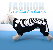 2019 New Halloween Costume  Puppy Sweater Dog Jacket Small and Medium Winter Clothes Pet