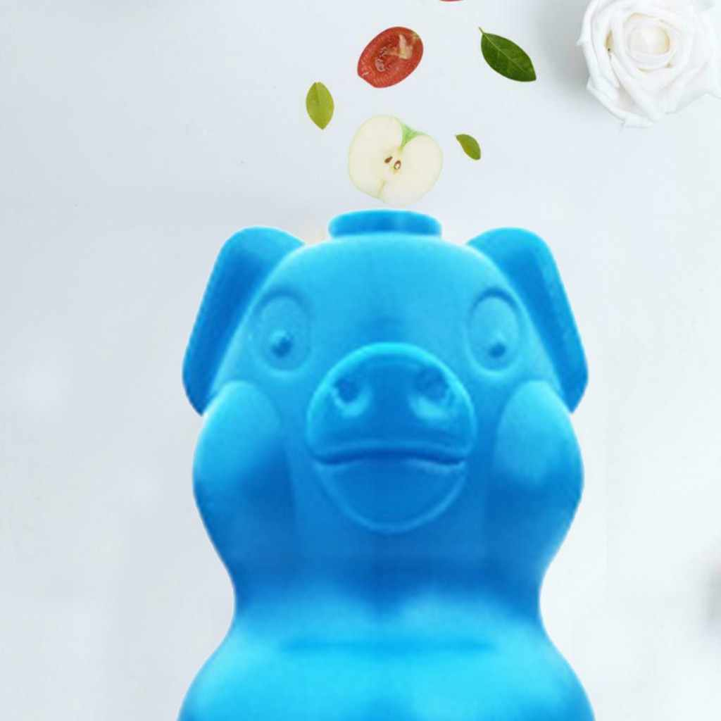 Очиститель для туалета сокровище голубой медведь в форме аромата пузырьковый мочевой дезодорант многофункциональная губка волшебное Очищение 19jun25