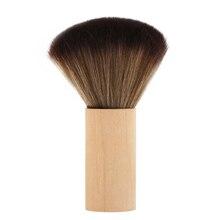 1 шт., ультра мягкая Парикмахерская щетка для чистки волос, щетка для чистки волос, Парикмахерская щетка для удаления пыли на шее, для салона, инструмент для укладки волос
