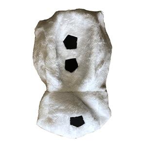 Image 3 - Роскошный плюшевый восхитительный Детский карнавальный костюм на Хэллоуин для малышей, Детские вечерние платья с героями мультфильмов и снеговиком