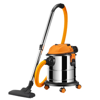 CHIGO Car Wash Vacuum Cleaner Home Strong High Power Small Handheld Super Sound Off Barrel Industry