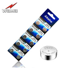 40x Wama AG13 Alkaline Coin Batteries 357A LR44 LRA76 L1154 1.55V Button Cell Battery for Colorful Night Light Alarm
