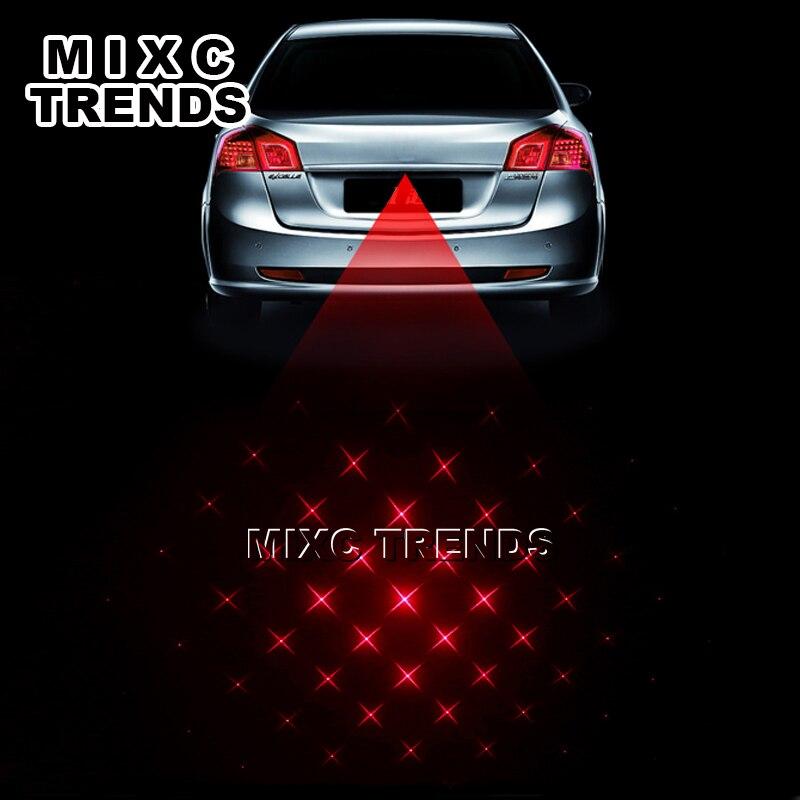 Neueste Anti Kollision Hinten-ende Auto Laser nebel licht beste LD Laser Diode Auto Brems Parkplatz Aufzucht Warnung Licht