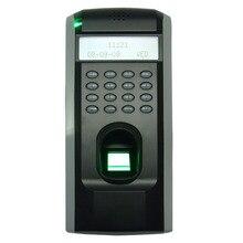 ZK F7 TCP IP или RS232 и RS485 биометрических отпечатков пальцев двери контроллер доступа ZK Teco F7 высокое Скорость время Регистраторы с программным обеспечением