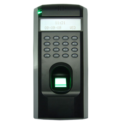 ZK F7 TCP IP or RS232 and RS485 Biometric Finger Print Door Access Controller ZK Teco F7 High Speed Time Recorder with software zk iface701 face and rfid card time attendance tcp ip linux system biometric facial door access controller system with battery