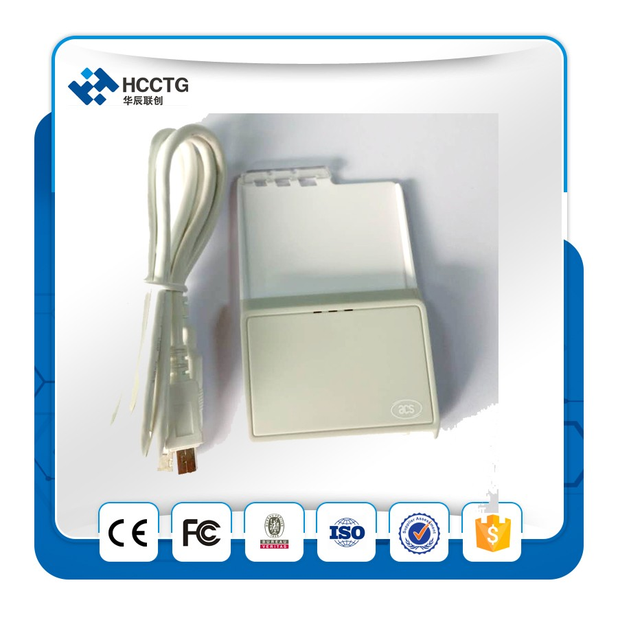 Supports ISO 7816 Class A B And C Bluetooth Smart Card Reader ACR3901U-S1