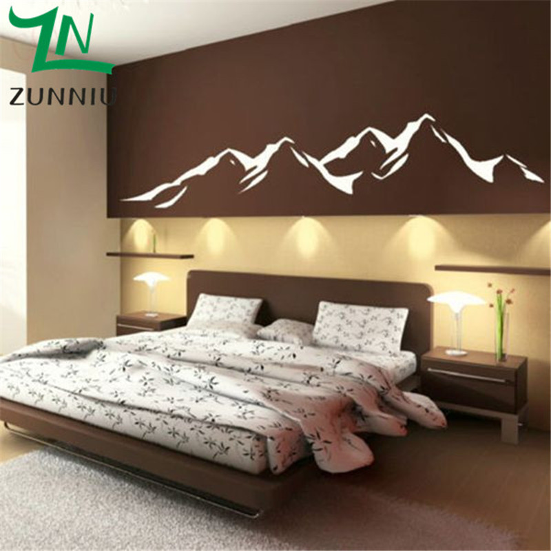 K021 Mountains Large Size Wall Background Decoration