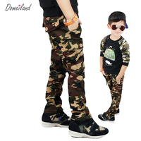 New Autumn 2015 Children S For Kids Boy Cargo Sports Military Camouflage Pants Long Casual Cotton