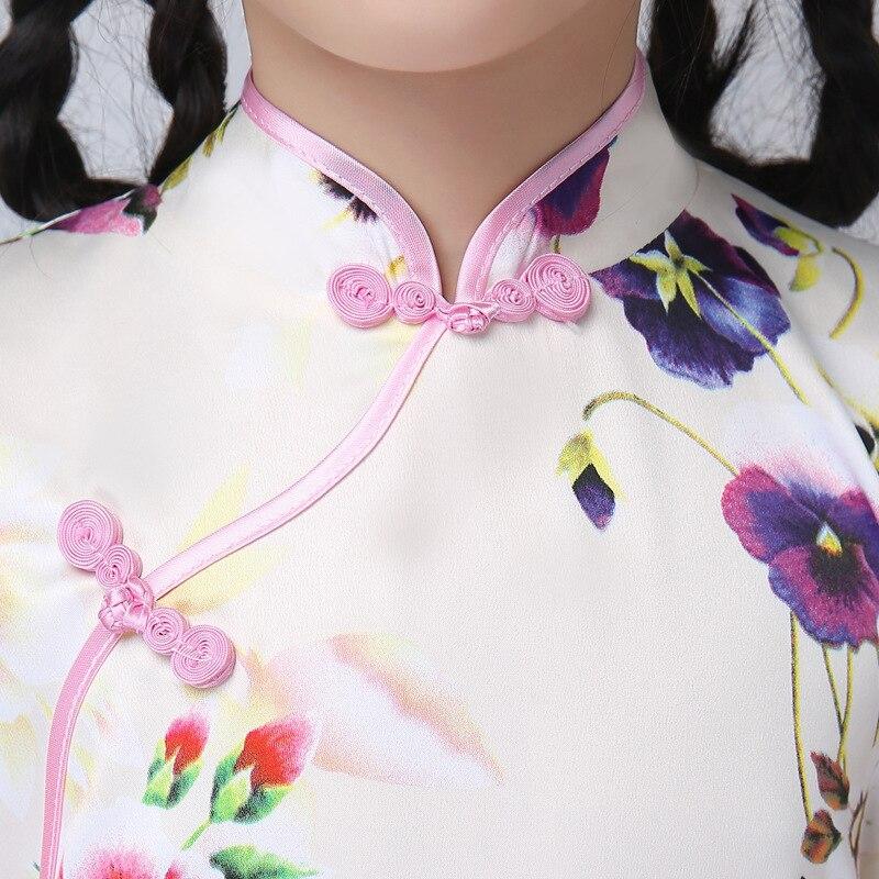 Κινέζικα παραδοσιακά φορέματα Floral - Εθνικά ρούχα - Φωτογραφία 5