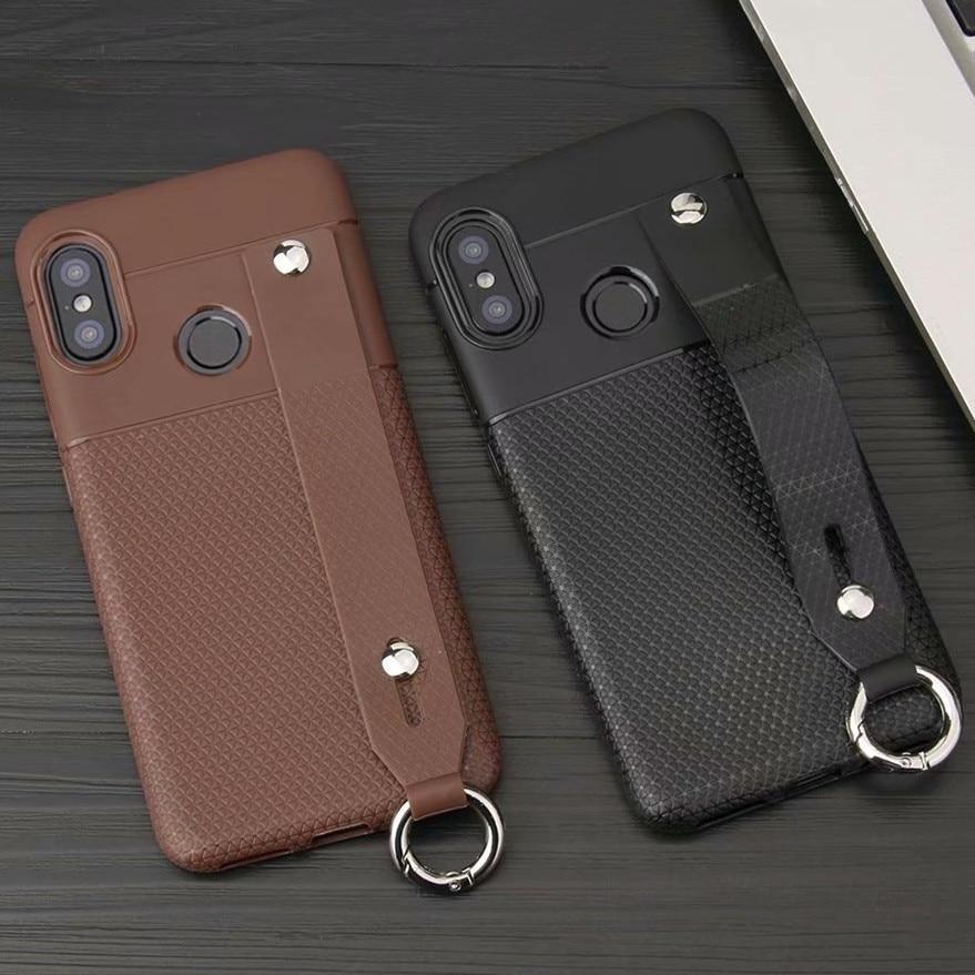 For Xiaomi Pocophone F1 Case Poco F1 Hand strap case Redmi