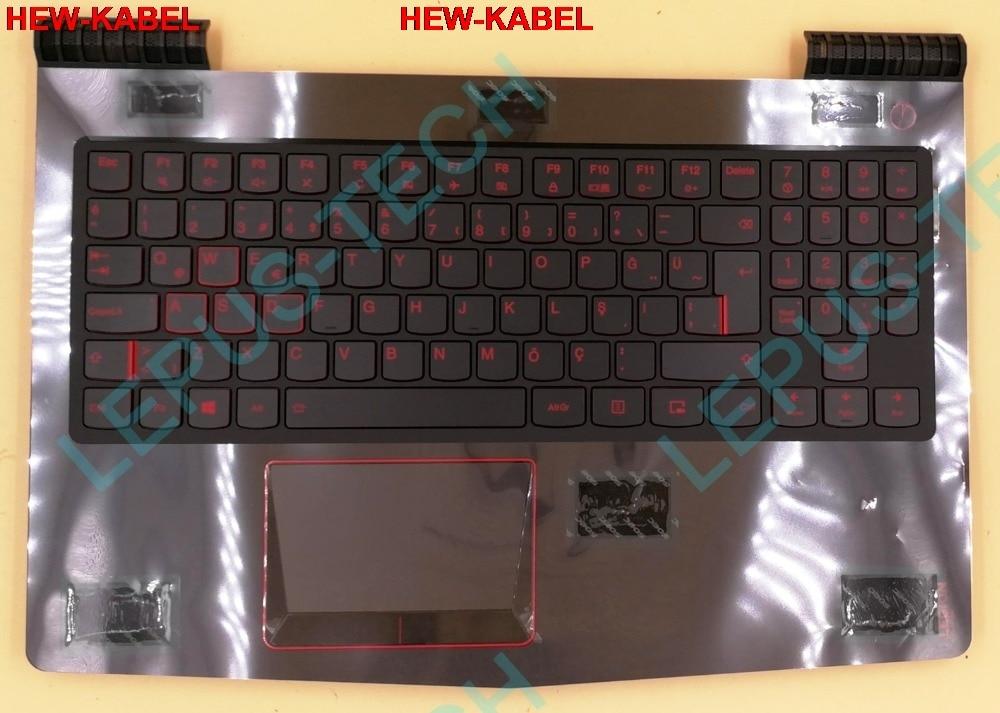 Türkische TR layout UK tastatur für LENOVO Y520 R720 Y520-15 R720-15 mit hintergrundbeleuchtung mit palmrest
