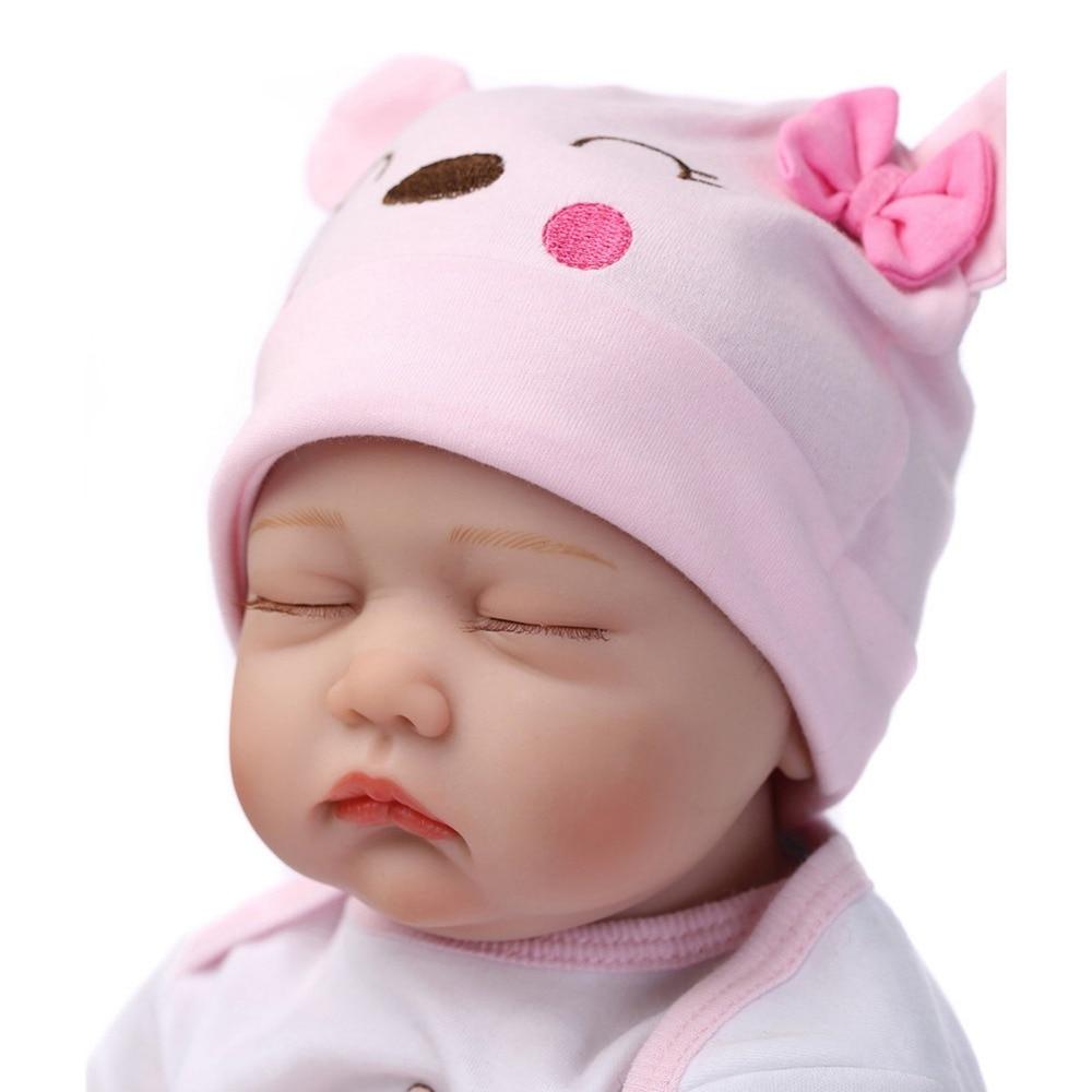 NPKCOLLECTION Bebe Reborn Dolls de Silicone Girl Body 55cm Sleeping - Muñecas y accesorios - foto 2