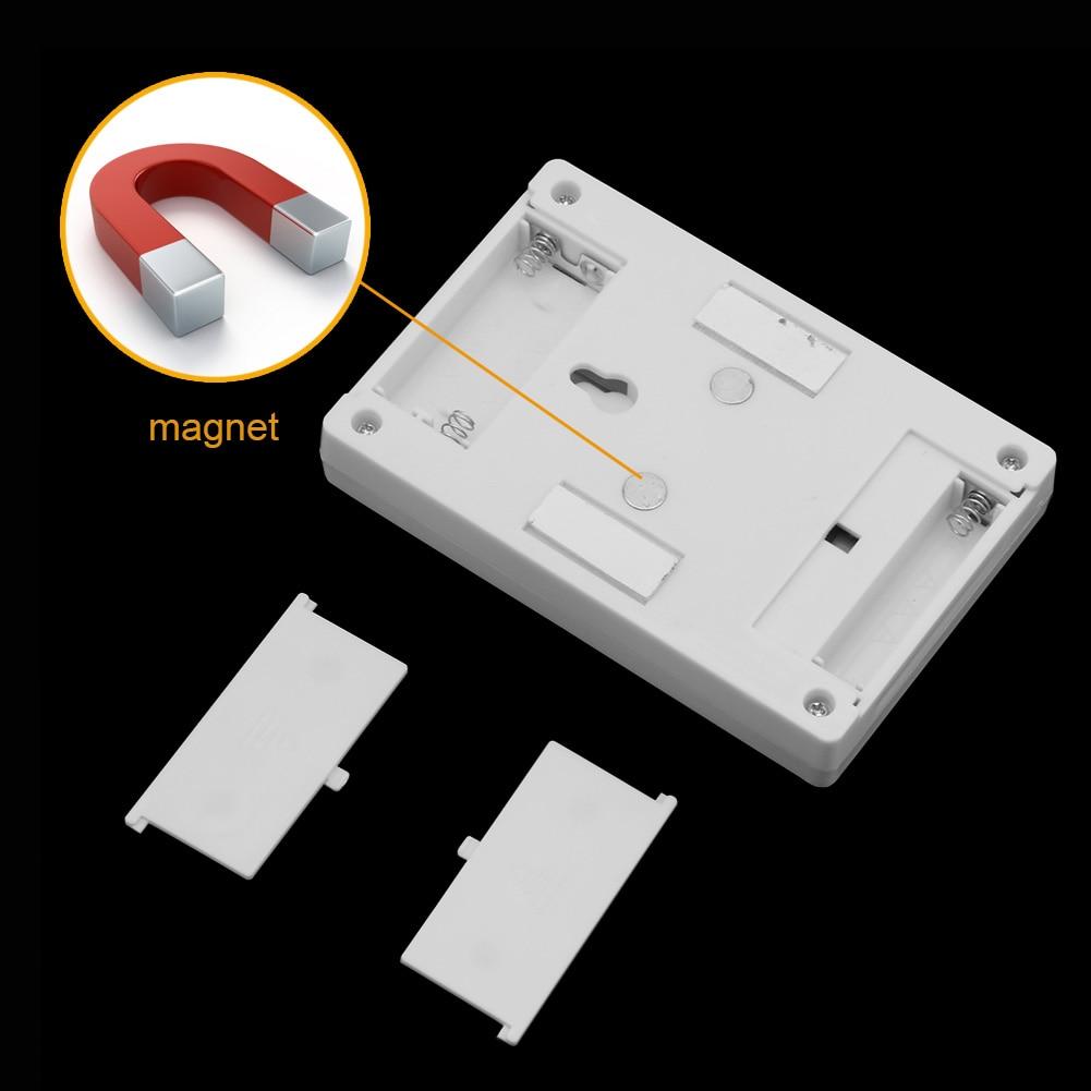 Magnetische 2 COB LED Nacht Lichtschalter Wandleuchten ...