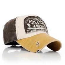 New Arrive Motors Racing Team Cotton baseball snapback hats caps sports hip hop