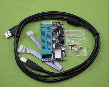 5pcs/lot PIC K150 ICSP Programmer USB Automatic Programming Develop Microcontroller + USB ICSP cable - DISCOUNT ITEM  17% OFF All Category