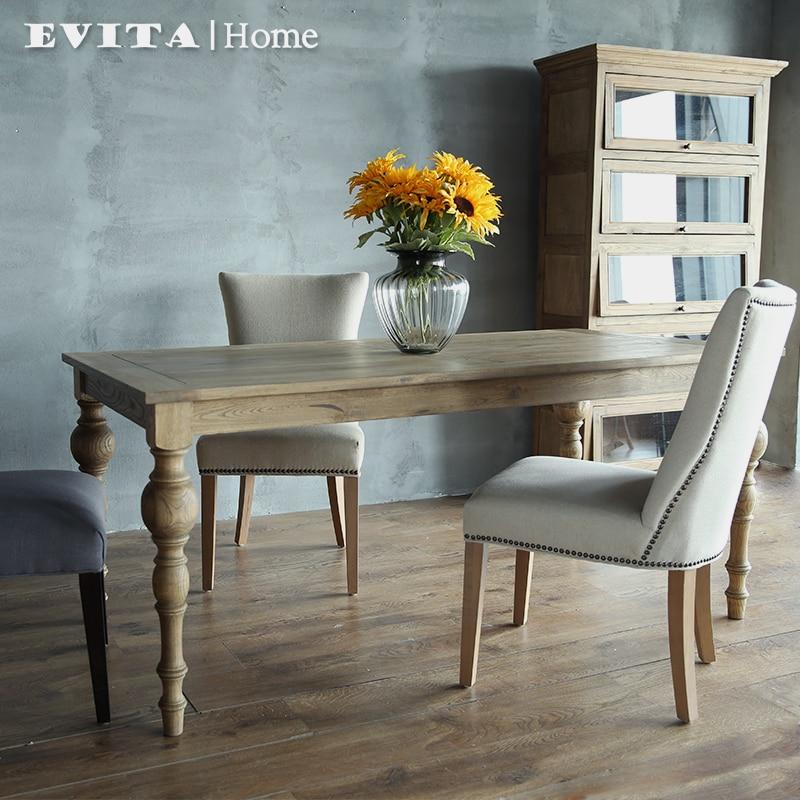 Continentale multifunctionele houten eettafel eettafel Woonkamer tafel