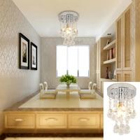 150mm/200mm Base size (optional) AC220V Crystal Pendant Light E14 Base Socket Holder for Bedroom Living Room Restaurant