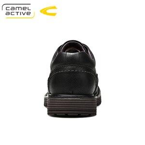 Image 2 - Camel Active ใหม่ยี่ห้อ Mens Oxfords หนังอย่างเป็นทางการรองเท้าสำหรับรองเท้ารอบ Toe Vintage ผู้ชายสบายๆ zapatos