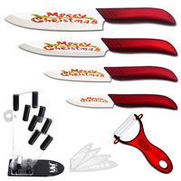 Hot Sales 3 Fruit 4 Utility 5 Slicing 6 Chef Ceramic Knives Peeler Knife Stand XYJ