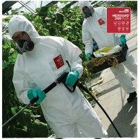 2500 Химический Защитный Комбинезон радиационная защита контроль лекарственная кровь спрей больница вирус загрязнения saftey костюм