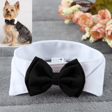 1PC Pet Puppy Dogs Adjustable Bow Tie Collar Necktie Bowknot Bowtie Holiday Wedd