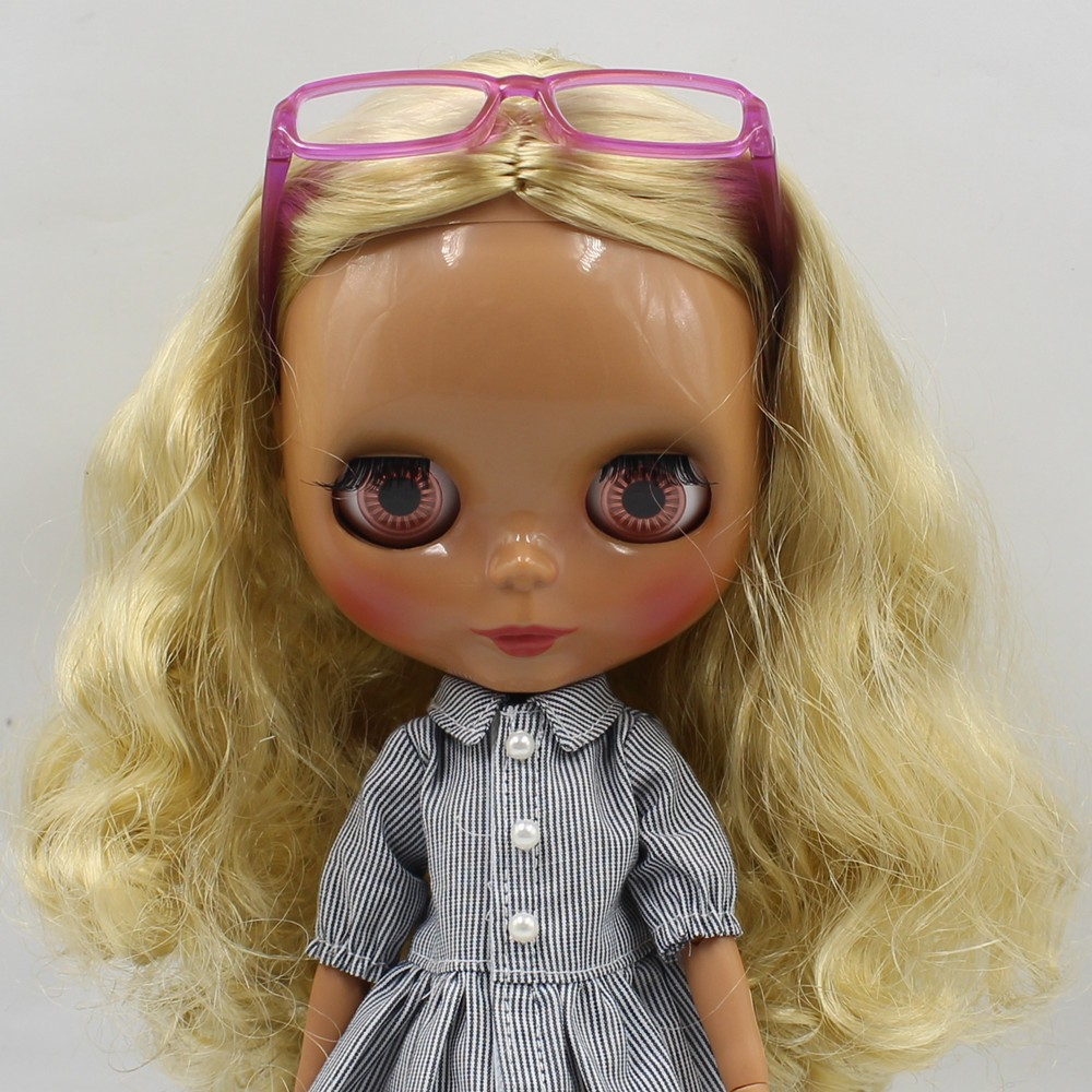 Neo Blythe Doll Heart & Boxes Shaped Glasses 13