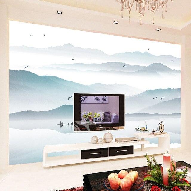 Online Shop Customized photo wallpaper 3d wall murals wallpaper Ink