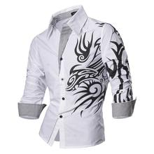 Jeansian Men's Fashion Dress Casual Shirts Button Down Long Sleeve Slim Fit Designer Z001 White2 long sleeve button down mini shift dress