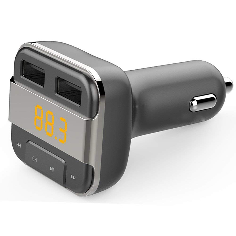 LCAV Car Bluetooth FM Transmitter MP3 Player With Dual USB Charger-in FM Transmitters from Automobiles & Motorcycles