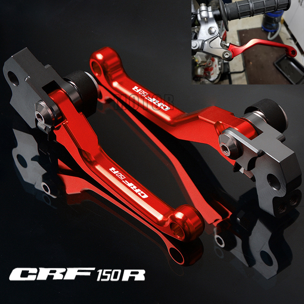 For HONDA CRF150R 2007-2018 Pivot Dirt Bike Brake Clutch Levers CNC 2008 2017
