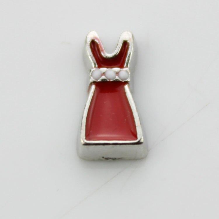 Red dress charm
