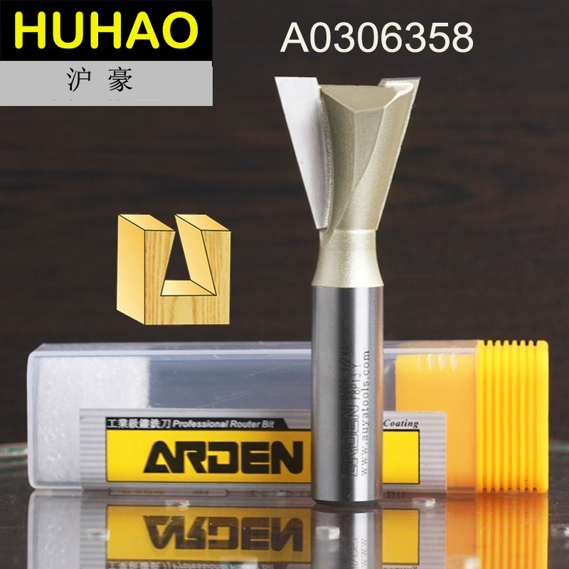 Fresas Para Router Woodworking Tool Dovetail Arden Router Bit - 1/2*1-1/4 - 1/2