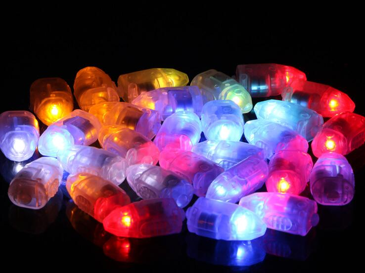LED Lamps Balloon Lights for Paper Lantern Balloon White or Multicolor Christmas Party Decoration