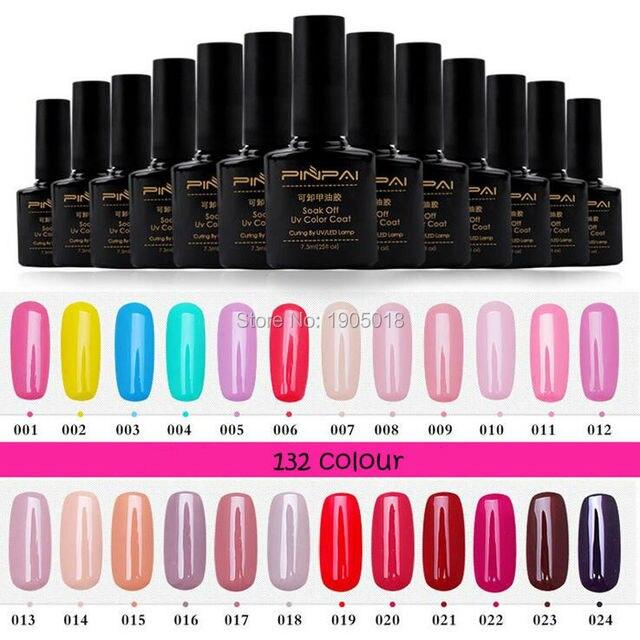 Nuevas Adquisiciones 5 unids/lote 132 colores esmalte de uñas ...
