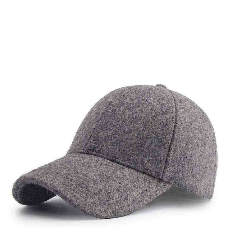 759a249dedb COKK Wool Baseball Cap Women Men Snapback Winter Hats For Women Unisex Dad  Hat Female Thick Warm Gorras Bone Male Casquette-in Baseball Caps from  Apparel ...