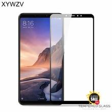 2PCS Full Glue Cover Glass Xiaomi Mi Max 3 Tempered Screen Protector For Phone Film